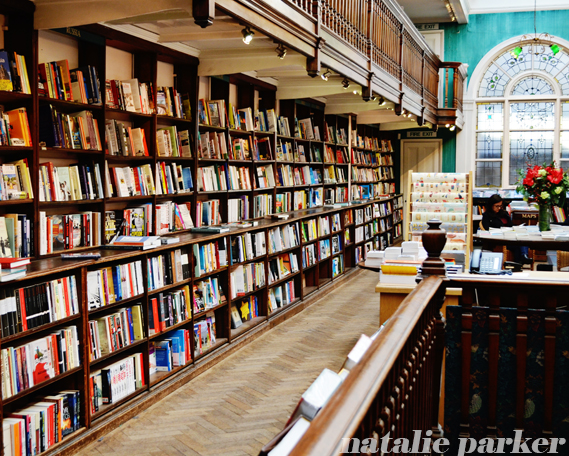 Daunt Books London by Natalie Parker
