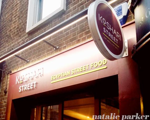 Koshari Street London by Natalie Parker