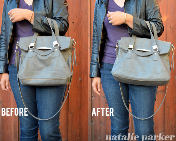 DIY Purse Shaper by Natalie Parker