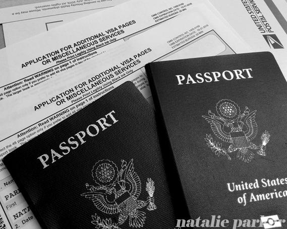 Passports by Natalie Parker