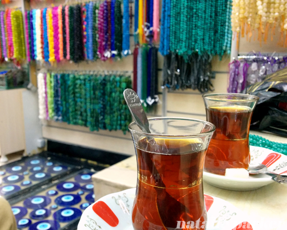 Tea and Jewelry in Istanbul by Natalie Parker