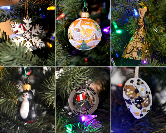 Travel Ornaments by Natalie Parker