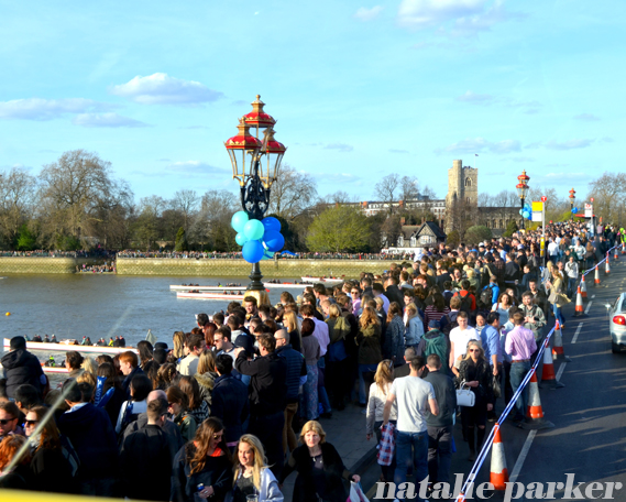 Oxford Cambridge Boat Race, Putney, London