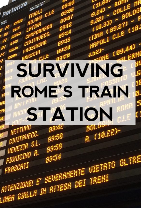 Surviving Roma Termini Train Station