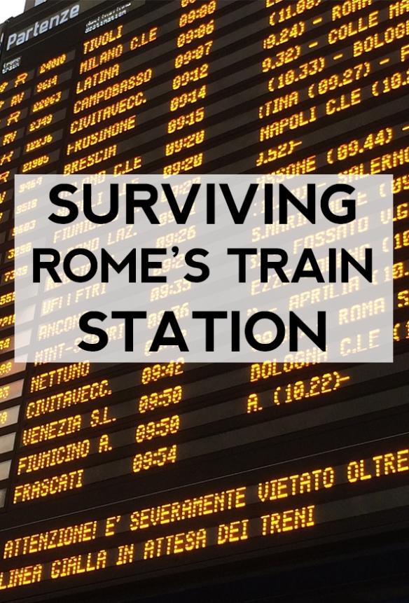 Surviving Roma Termini Train Station