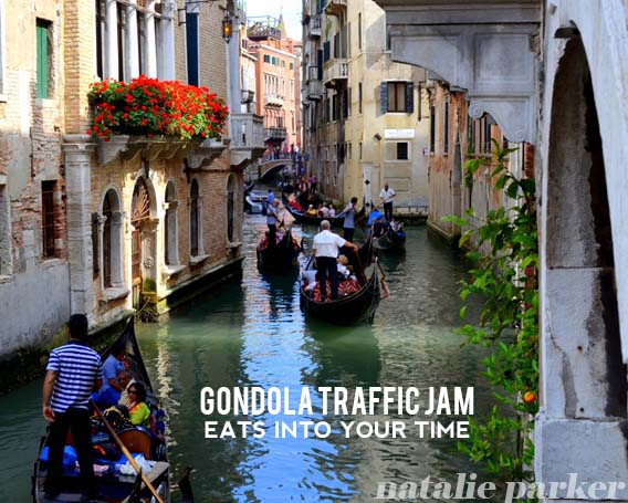 How to Ride a Gondola in Venice by Natalie Parker