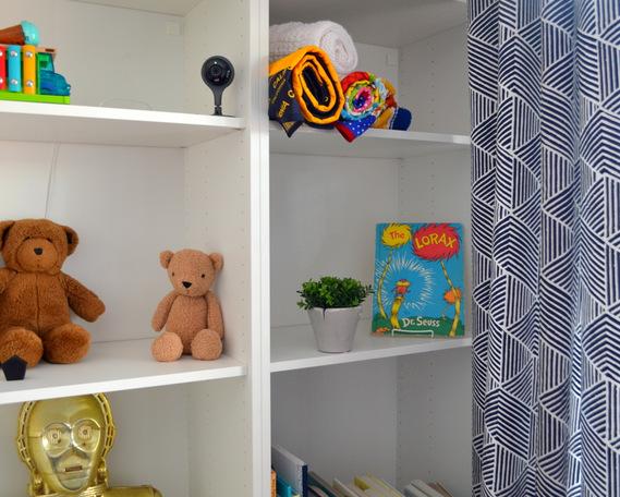 Modern Baby Boy Nursery by Natalie Parker