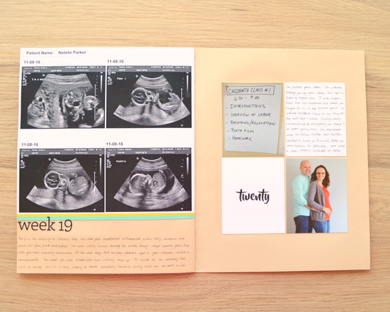 Pregnancy Album by Natalie Parker