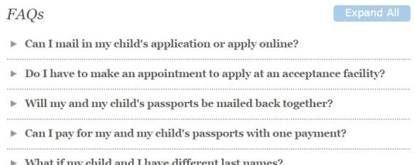 State Department FAQ